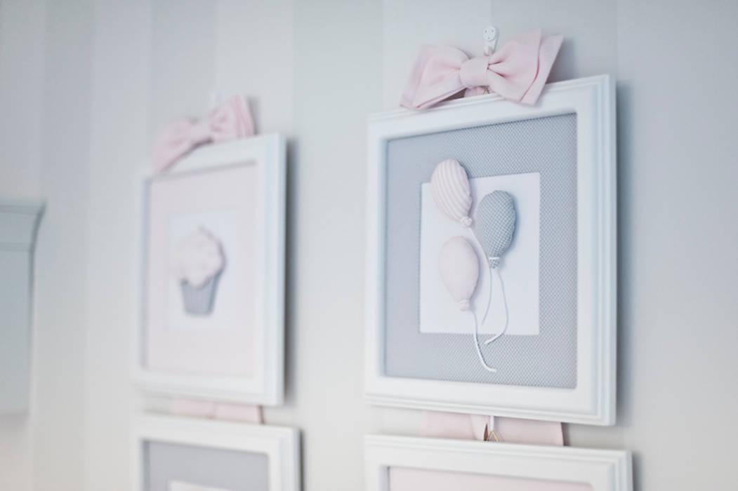 Tkaninowe obrazki 3D: styl , w kategorii Pokój dziecięcy zaprojektowany przez Caramella