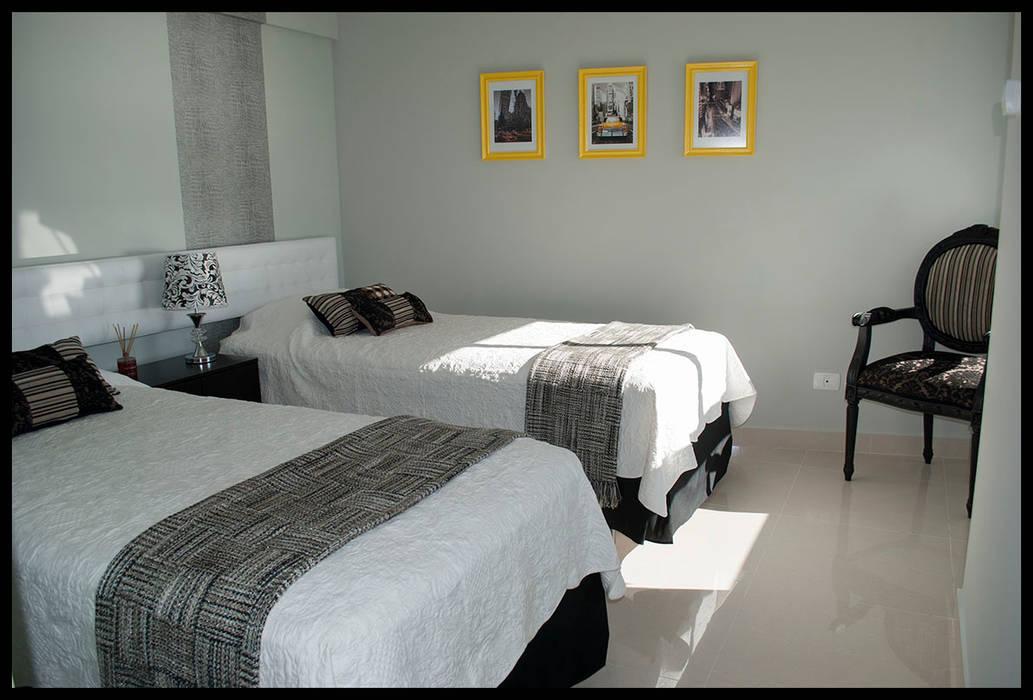 Tercer dormitorio - Personal y ECLECTICO: Dormitorios de estilo  por Diseñadora Lucia Casanova,Ecléctico