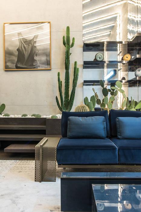AD Intérieurs 2015, Palais d'iéna: Salon de style de style Moderne par Concrete LCDA
