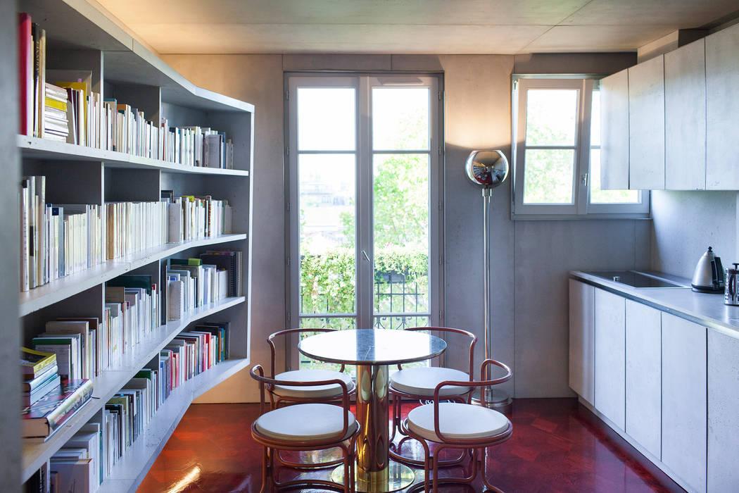 Concrete Flat: Cuisine de style de style Moderne par Concrete LCDA