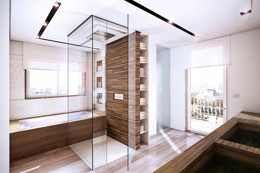 Moderne badkamers van StudioArchPellicano Modern
