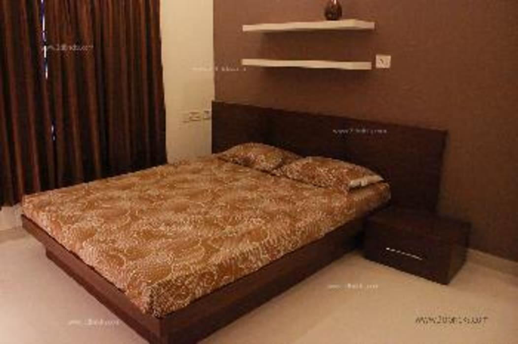 Residence Project Modern style bedroom by 3DBricks Modern