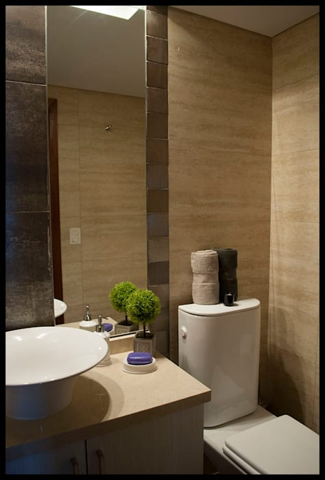 Pequeños detalles que hacen la diferencia: Baños de estilo  por Diseñadora Lucia Casanova