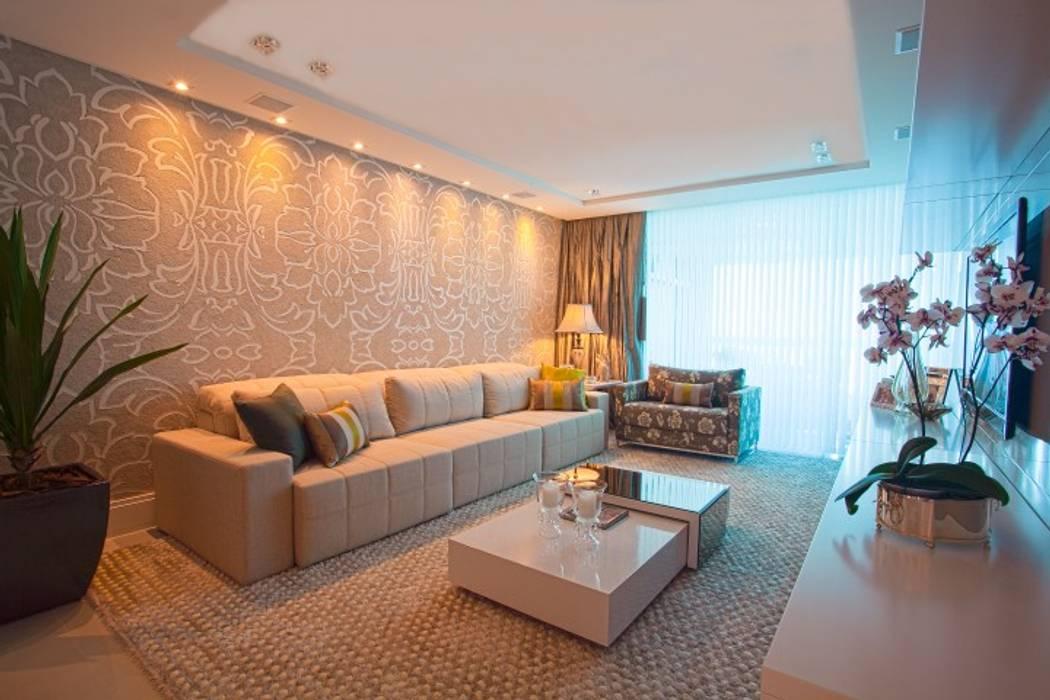 Living room by LimaRamos & Arquitetos Associados, Modern