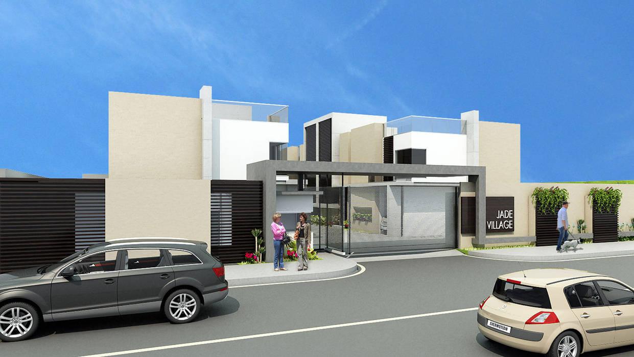 Jade Village Casas modernas de NOGARQ C.A. Moderno