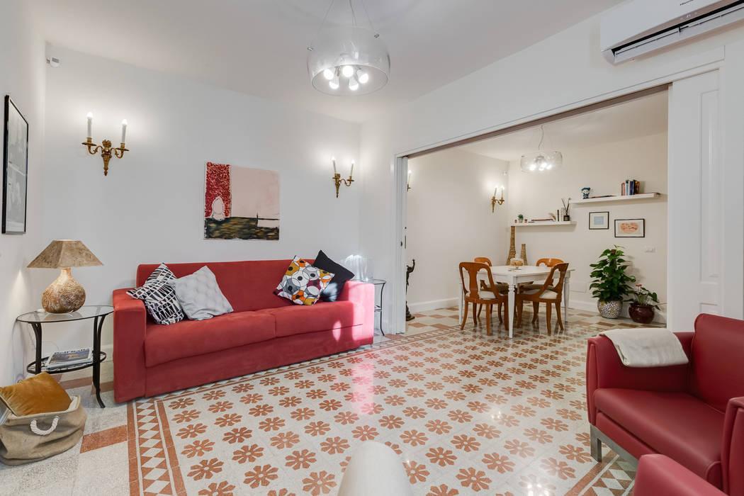 Appartamento Parioli - Roma: Soggiorno in stile  di Luca Tranquilli - Fotografo