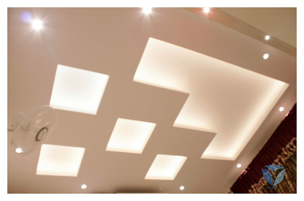 FALSE CEILING Modern style bedroom by IN-CUBE STUDIO Modern