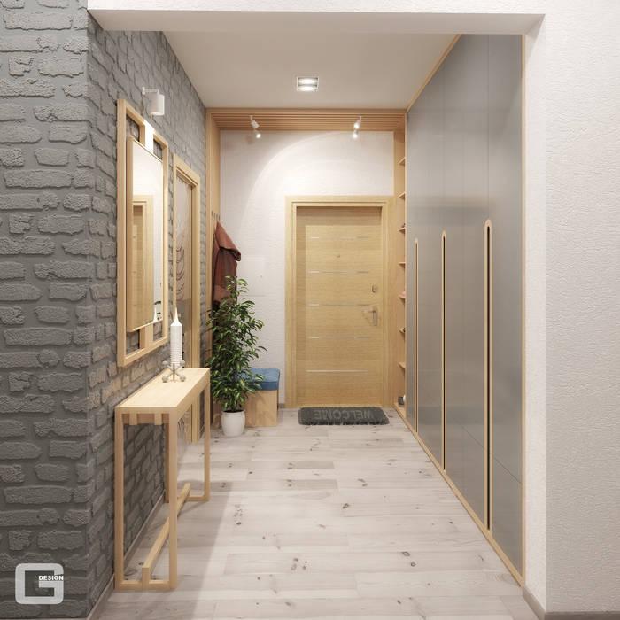 ทางเดินสไตล์สแกนดิเนเวียห้องโถงและบันได โดย Giovani Design Studio สแกนดิเนเวียน