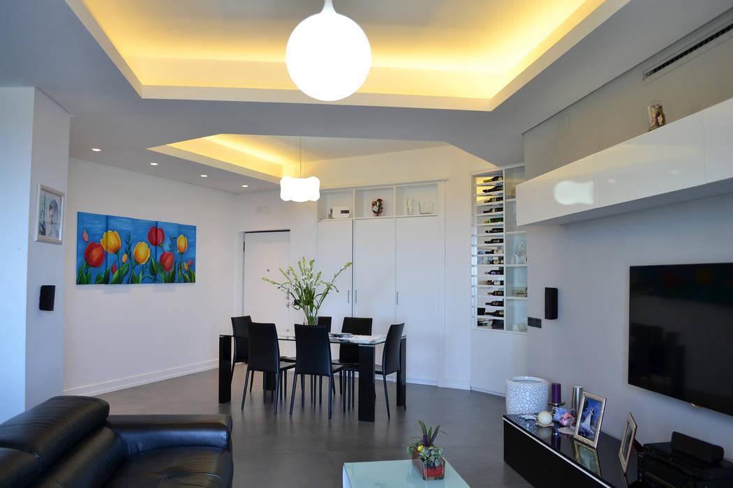 Modern Living Room by tizianavitielloarchitetto Modern