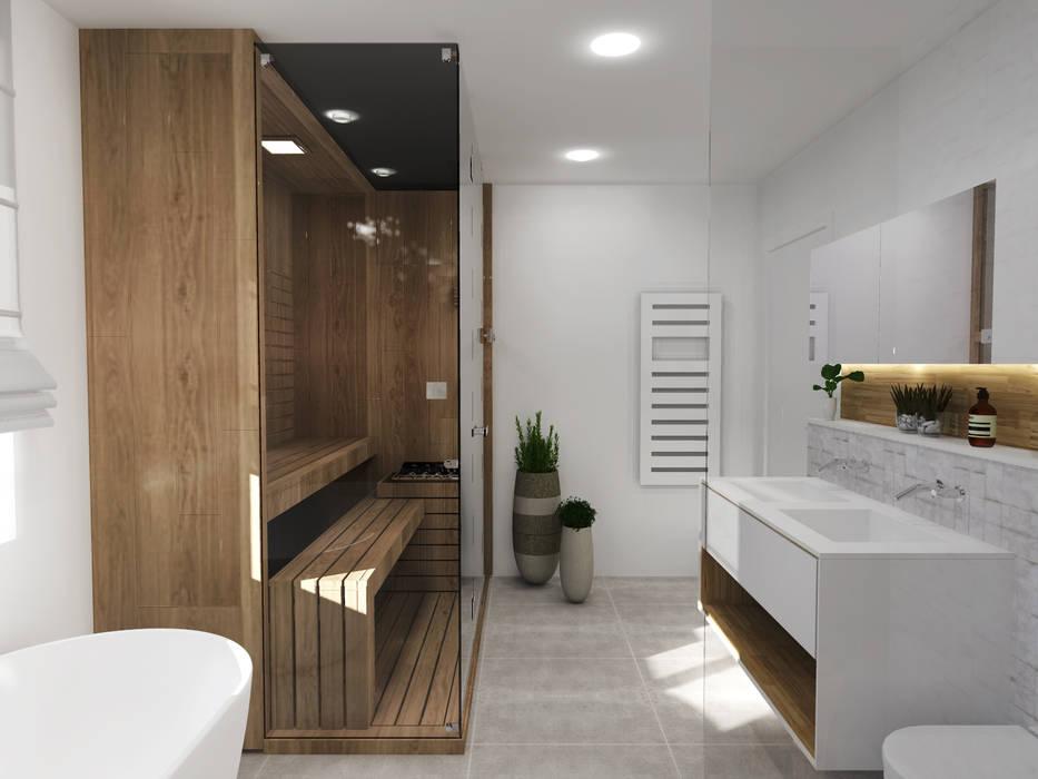 Salle de bain - Strasbourg Salle de bain scandinave par Ektor studio Scandinave