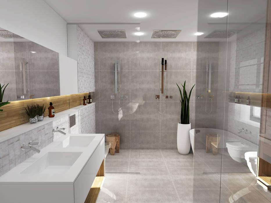 Salle de bain - Strasbourg: Salle de bains de style  par Ektor studio