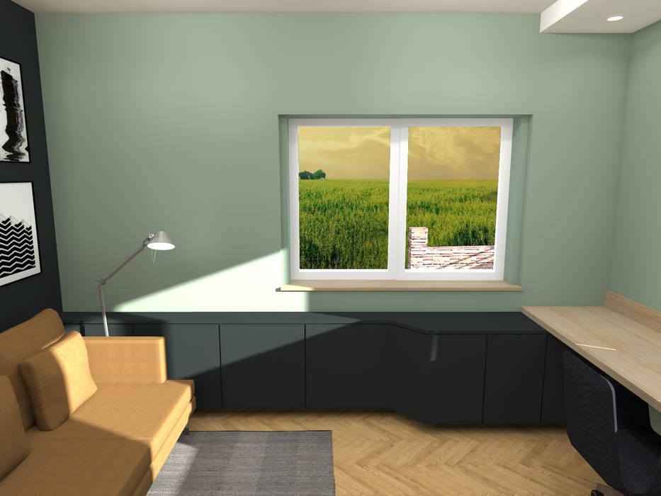 Aménagement & décoration d'un bureau - Strasbourg: Bureau de style de style Scandinave par Ektor studio