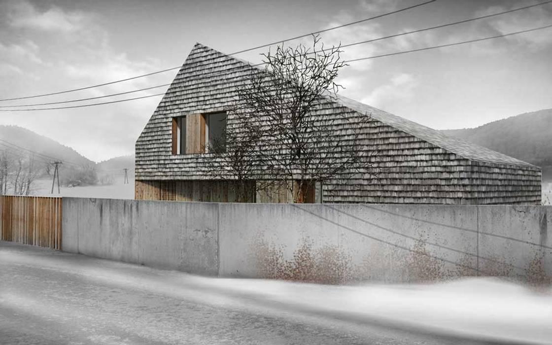 Dom Bielsko Biała Nowoczesne domy od INTERURBAN Nowoczesny