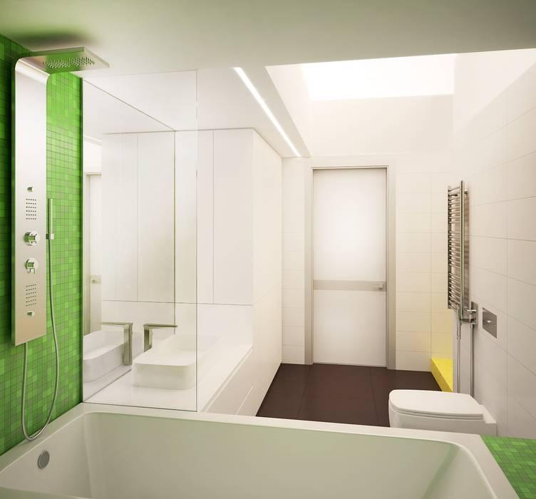 Eclectic style bathroom by ООО 'Студио-ТА' Eclectic