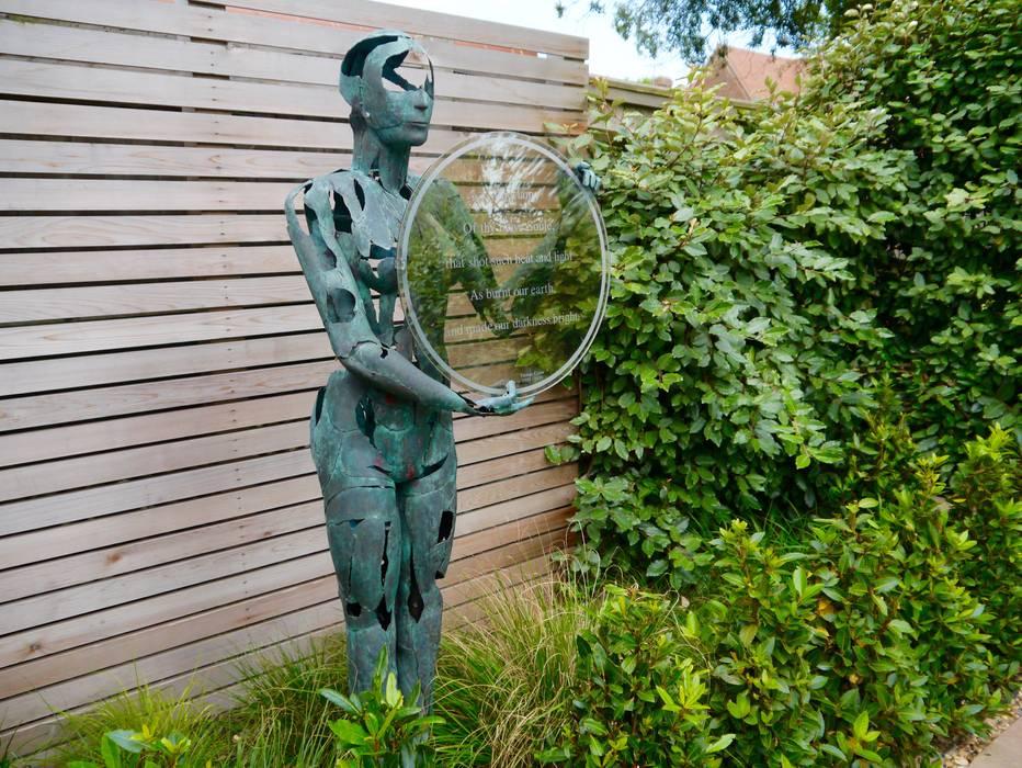 Coastal sculpture garden Moderner Garten von homify Modern