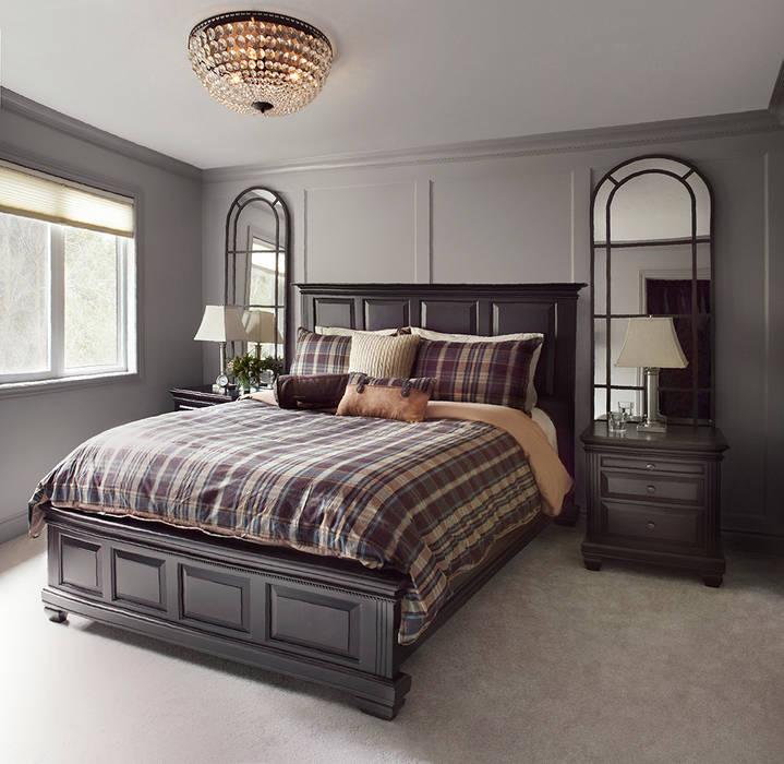 Camera da letto in stile  di ANNA DUVAL, Classico