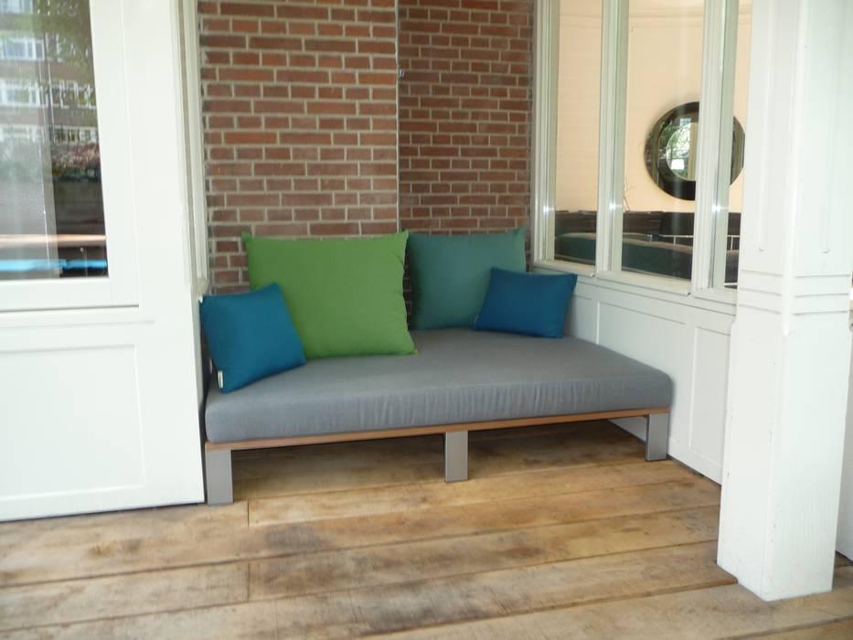 Kussens maatwerk logia Moderne balkons, veranda's en terrassen van Vormad - Sittingimage Modern