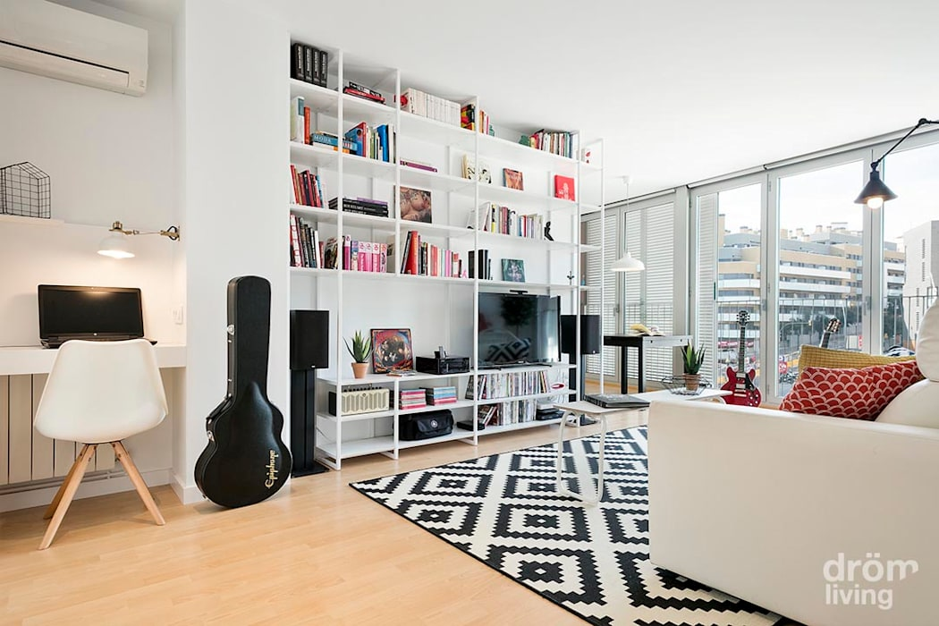 Salon moderne par Dröm Living Moderne