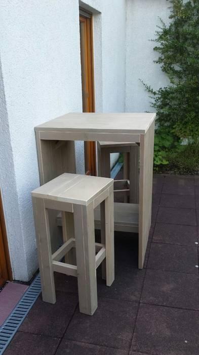 Möbel aus bauholz: bartisch: modern von exklusiv dutch ...