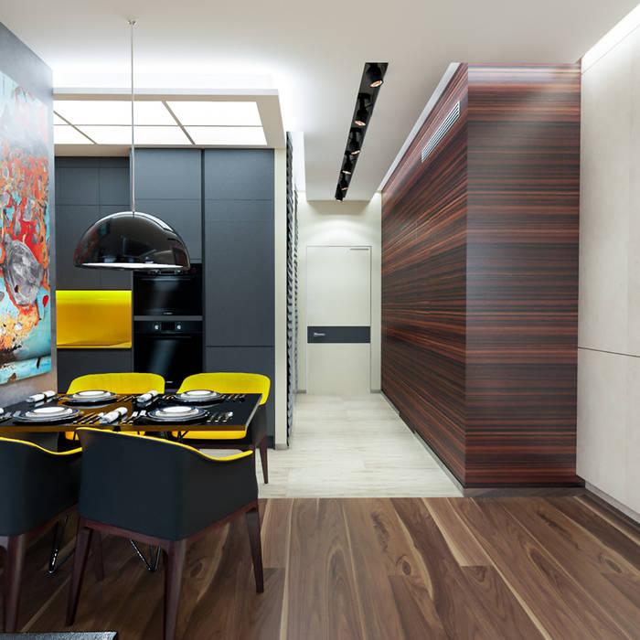 INTERIERIUM Cocinas de estilo minimalista