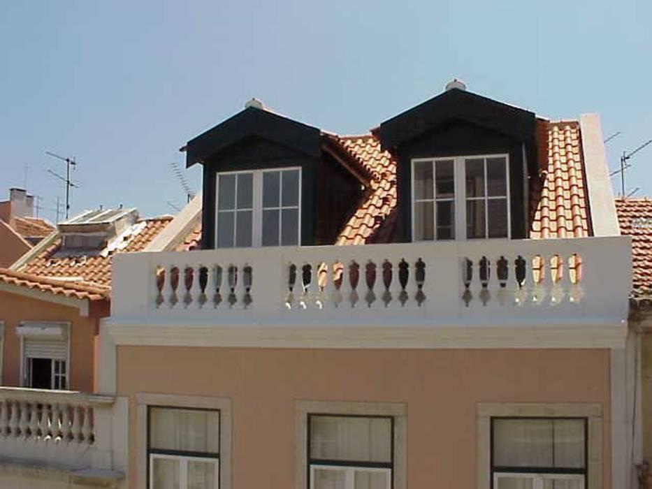 Projecto de Alterações Principe Real, Lisboa: Casas  por Paula Margarido - A link to balance