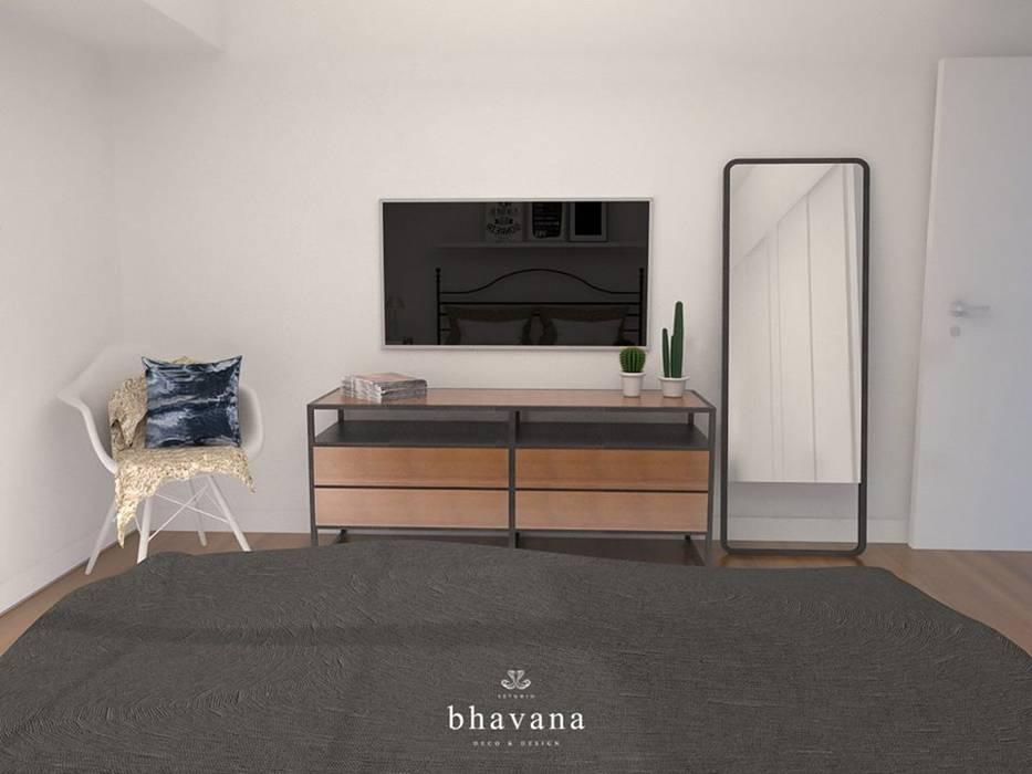 Habitación: Dormitorios de estilo  por Bhavana,Industrial