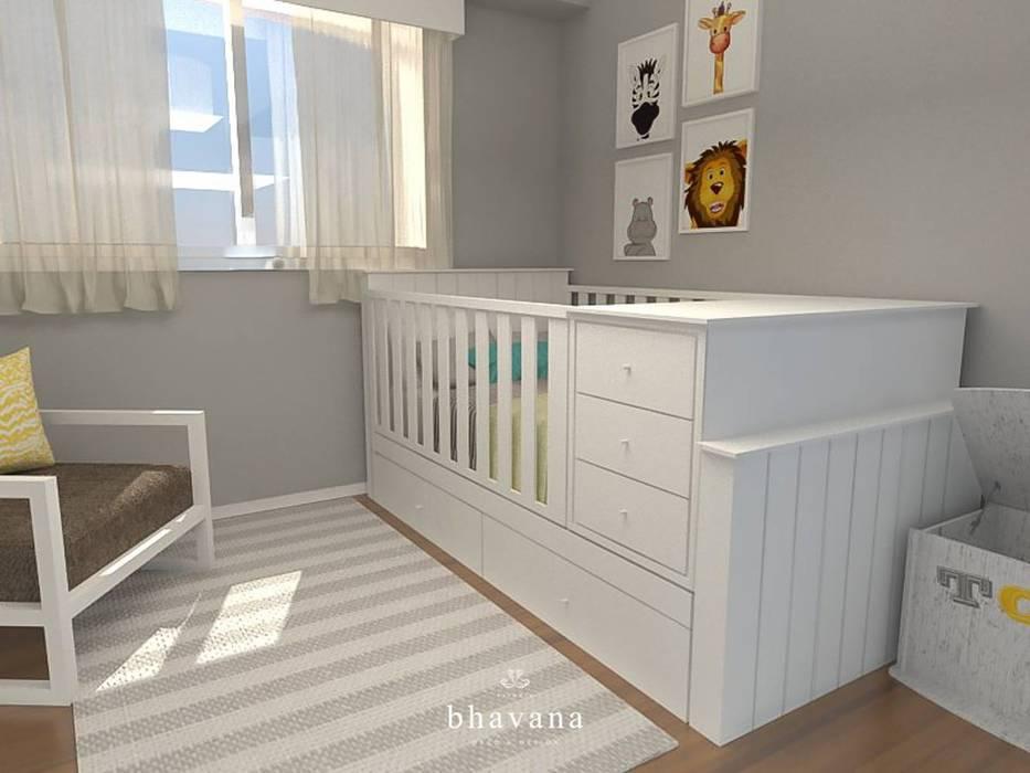 Habitación Dormitorios infantiles modernos: de Bhavana Moderno