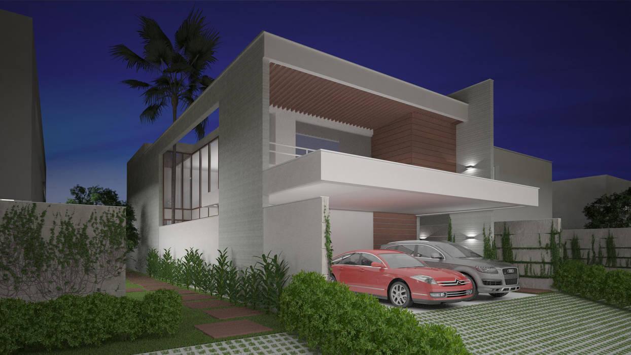 Maisons de style  par Sieg Arquitetura e Construção, Éclectique