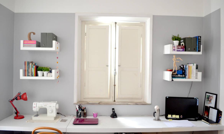 Modern study/office by C M Arquitetura e Design Modern