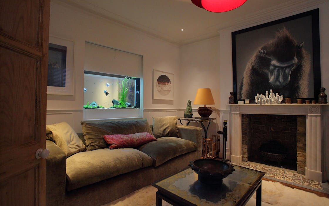 Sherlock House Classic style living room by Aquarium Architecture Classic