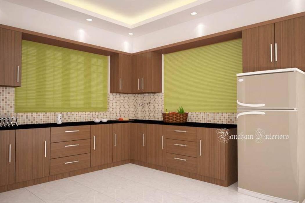 Kitchen Designs:  Kitchen by Pancham Interiors