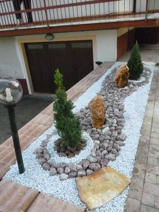 Taman oleh Studio Botanico Ventrone Dr. Fulvio, Minimalis