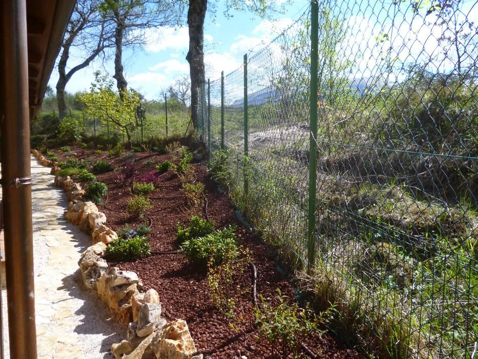 Taman oleh Studio Botanico Ventrone Dr. Fulvio, Country