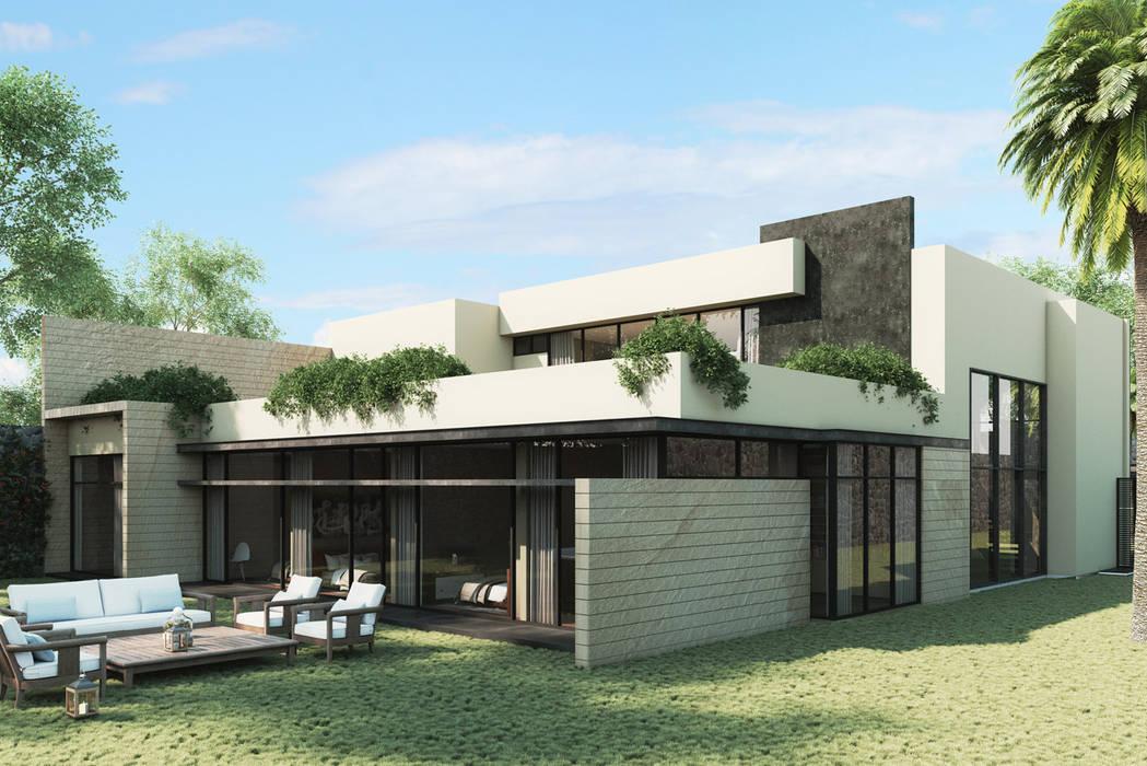 Casas modernas de Grow Arquitectos Moderno