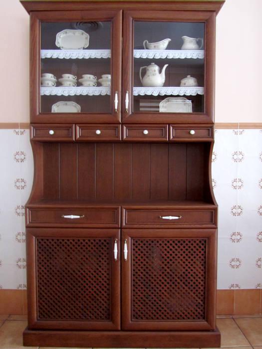 MUDEYBA S.L. KitchenStorage Parket Brown