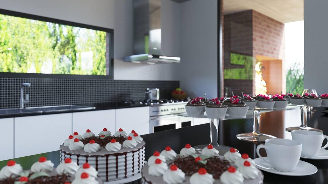 Cocinas de estilo  por D+D Studio, Moderno