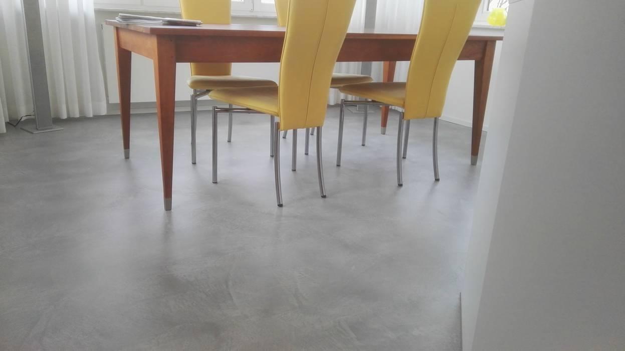 Kuchenboden In Beton Cire Modern Von Welschwalls Com Modern Homify