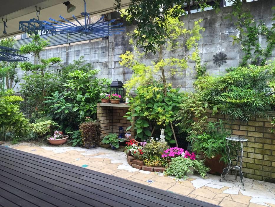 庭in福岡市 庭園空間ラボ teienkuukan Labo アジア風 庭