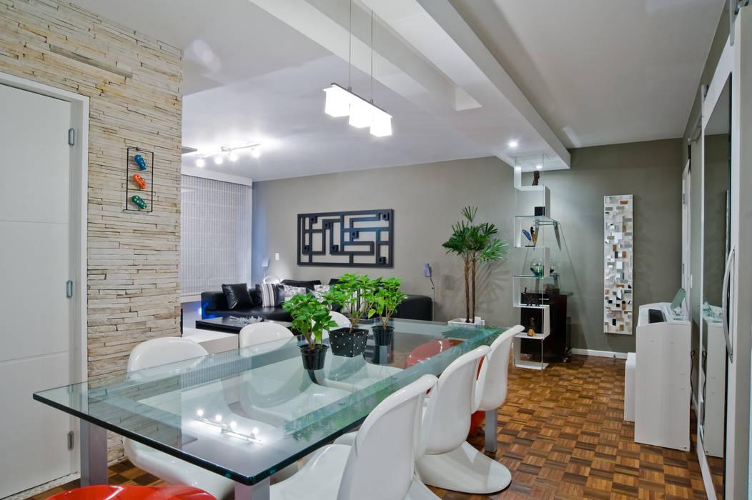 Salas Patrícia Azoni Arquitetura + Arte & Design Salas de jantar modernas