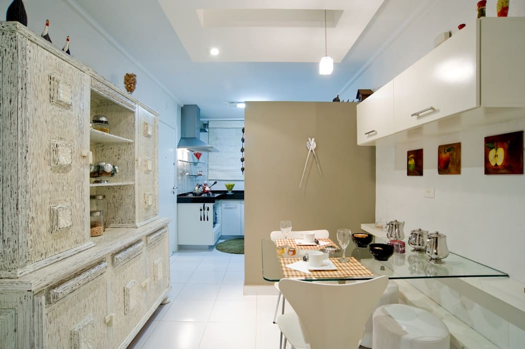 Patrícia Azoni Arquitetura + Arte & Design Modern style kitchen