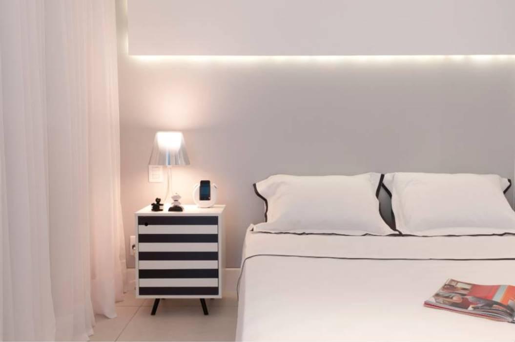 Estúdio Plano Modern style bedroom