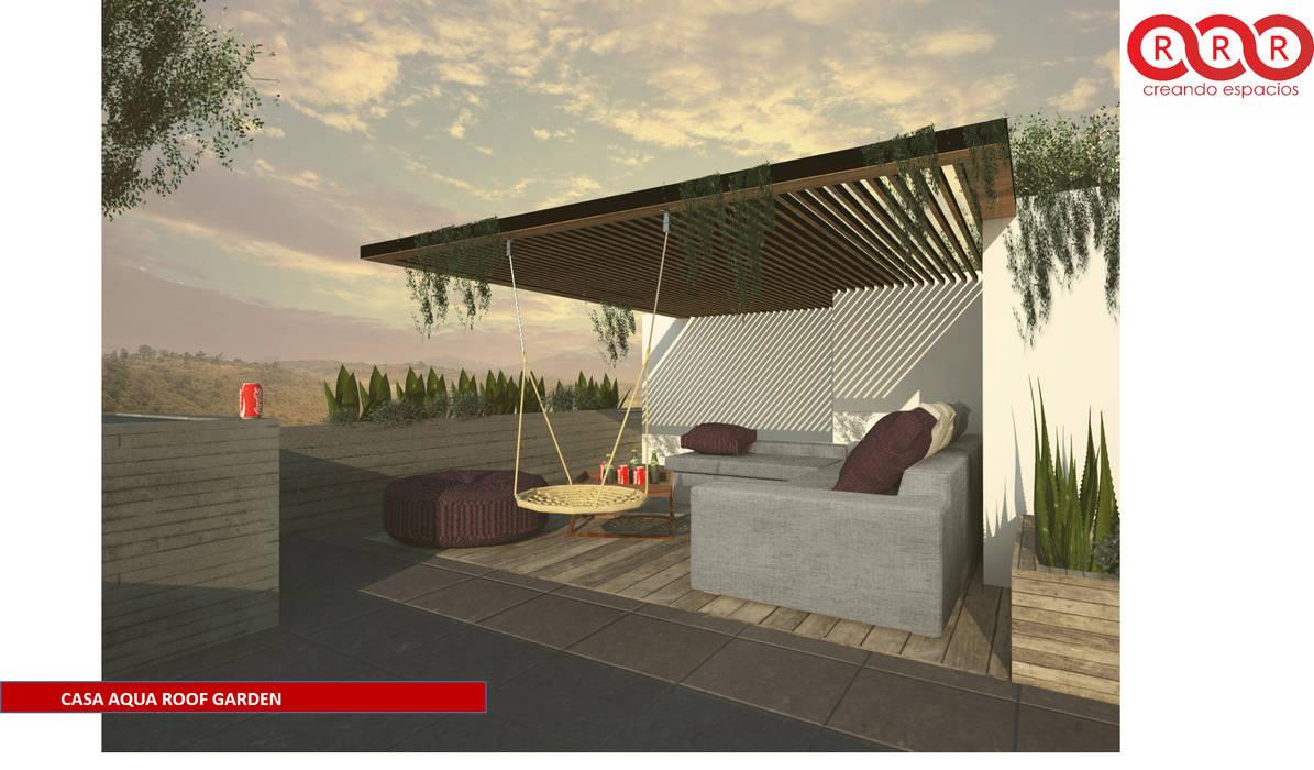 Roof Garden: Terrazas de estilo  por Tres-r
