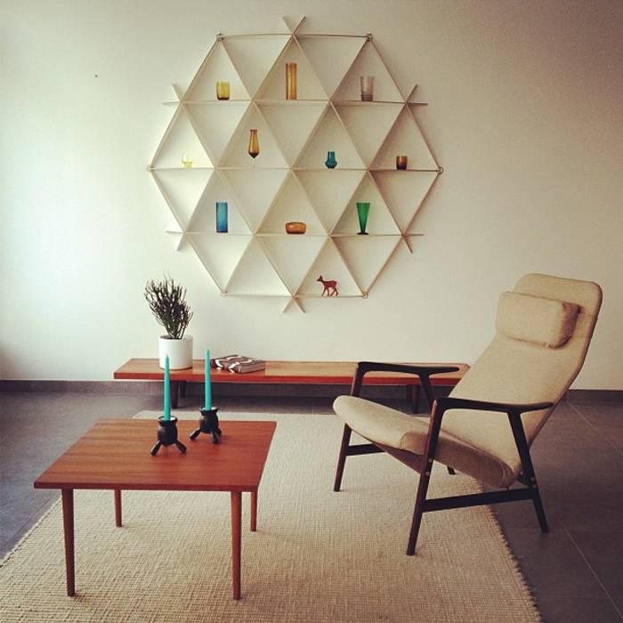 Futuristische wandregale f r moderne wohnr ume wohnzimmer for Moderne wandregale wohnzimmer