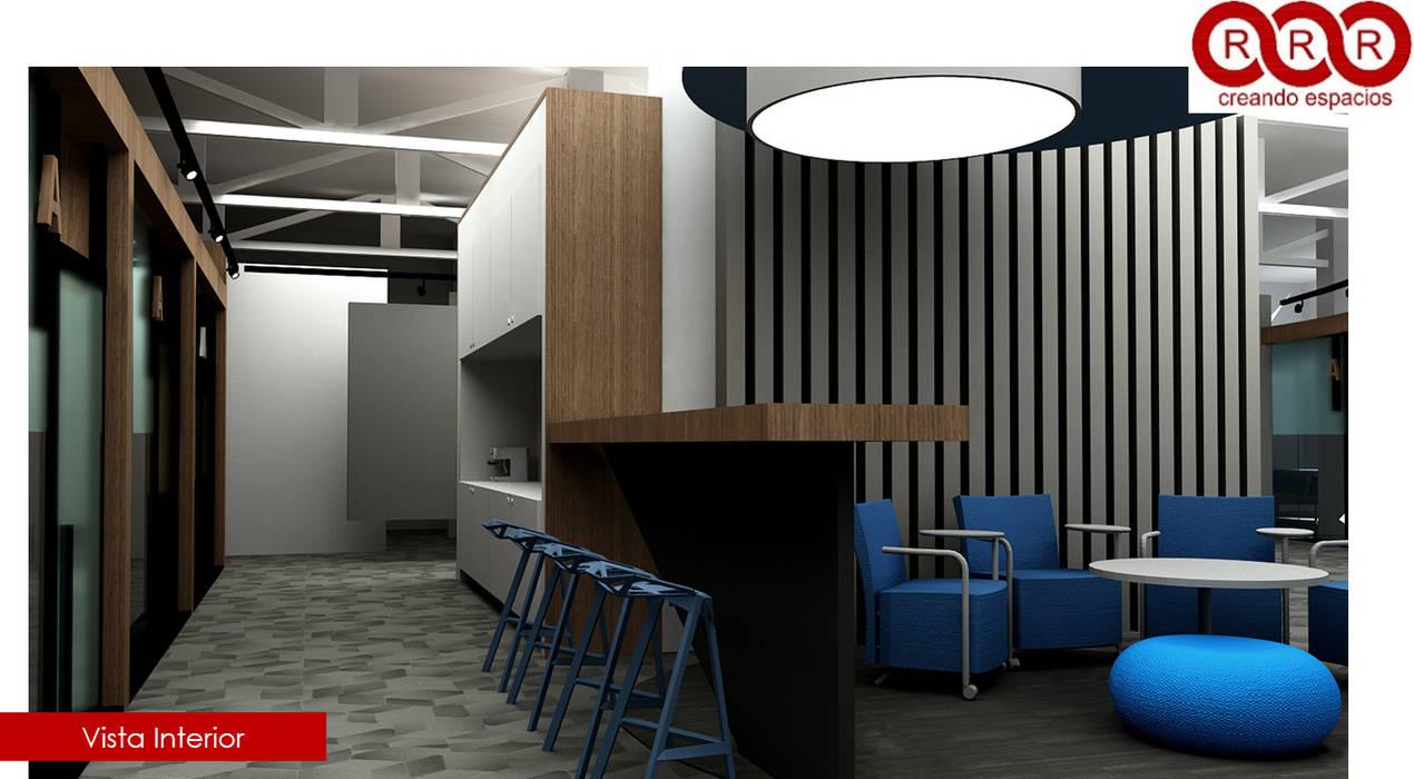 Cocina : Edificios de Oficinas de estilo  por Tres-r