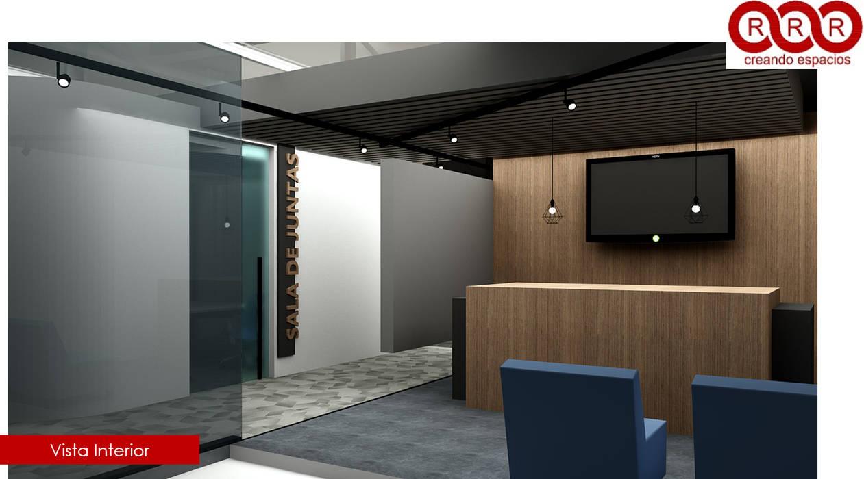 Recepción: Edificios de Oficinas de estilo  por Tres-r