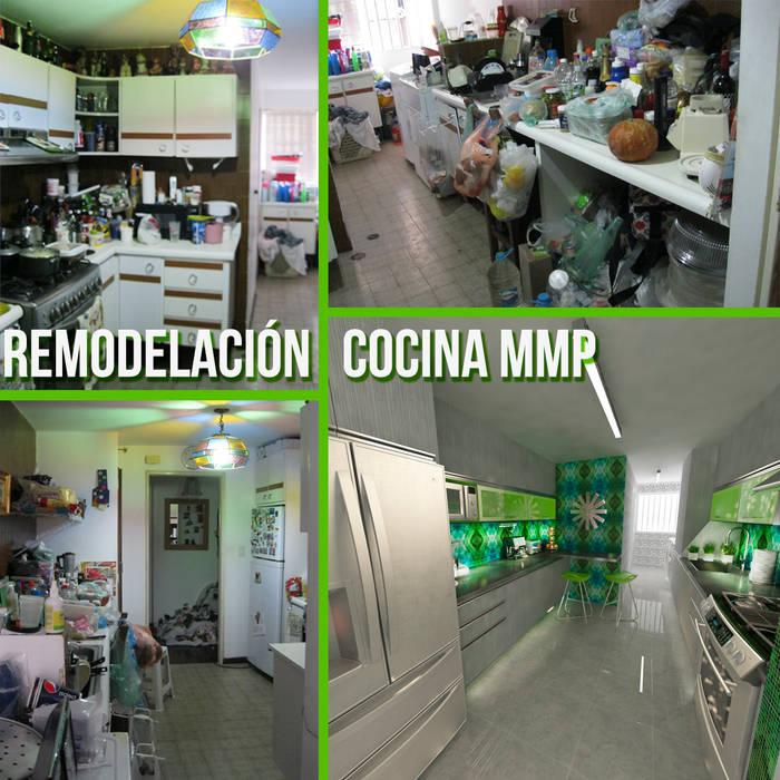 Remodelación Cocina MMP: Cocinas de estilo  por OPFA Diseños y Arquitectura