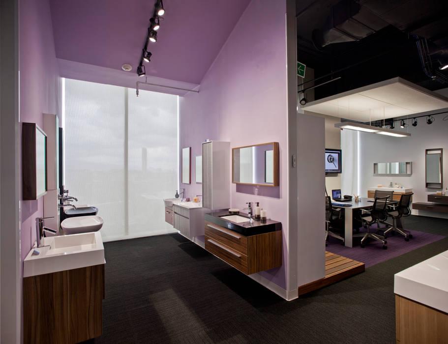 Oficinas de estilo moderno de Serrano Monjaraz Arquitectos Moderno
