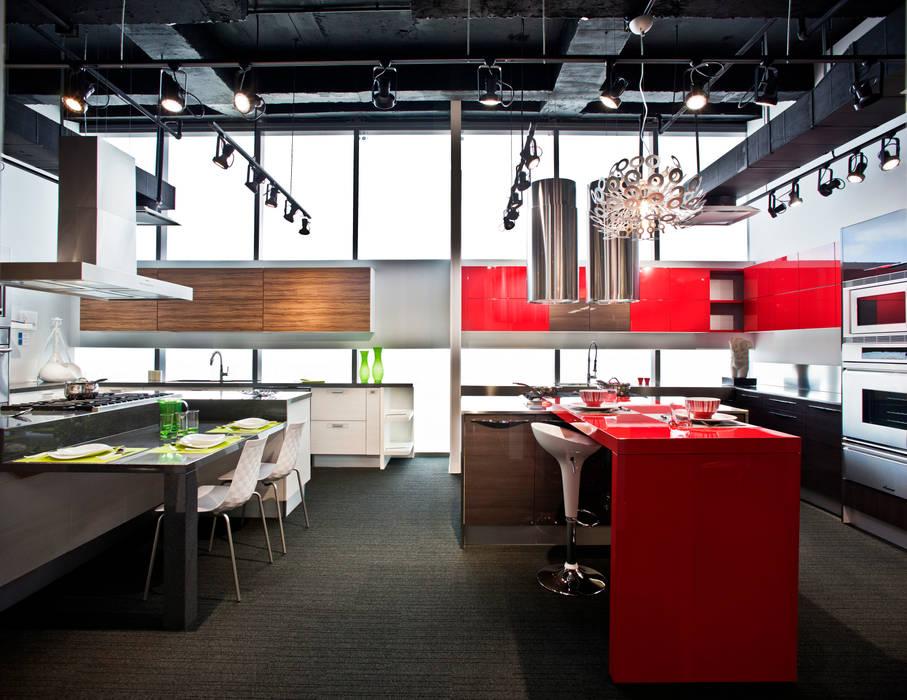 Showroom y Oficinas Gravita Serrano Monjaraz Arquitectos Estudios y despachos modernos
