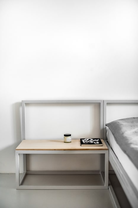 Dormitorios de estilo minimalista de Joanna Kubieniec Minimalista