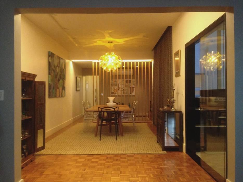 Ruang Makan Modern Oleh Carlos Salles Arquitetura e Interiores Modern